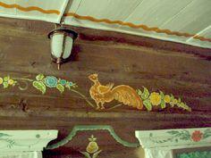 Уральская домовая роспись  по дереву
