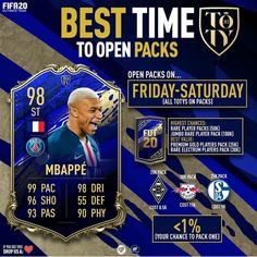 Best Time To Open Packs💰💰#fifa20#fifa20worldcup#fifa20memes#fifa20logo#fifa20logo#fifacake#fifa20ultimateteam#fifa20wallpapers#fifa20gameplay#fifa20#fifa#fifatrading#fifaultimateteam#ultimateteam#fifacoins#fifapoints#totw#fut#futchampions#football#soccer#ea#easports#fut20#fifa2020#totwprediction#teamoftheweek#packluck#packopening#playstation#freecoins#marketcrash#toty#football#soccer#fut20#futdraft#weekendleague#fifapacks#gaming#potm Fifa 20, National Mall, Ea Sports, Being In The World, New York Post, Football Soccer, New Technology, Case Study, Packing
