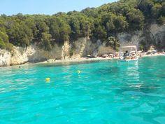 """Pisina Sivota"" 💙💚👌✌💦👙🏖🏝⛵⚓🏊 #bestvacation #paradiseexists #Sivota #Greece #pool #summer2016 #memories #takemeback #beautyofgreece #greekisland"