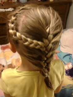 One braid into another.