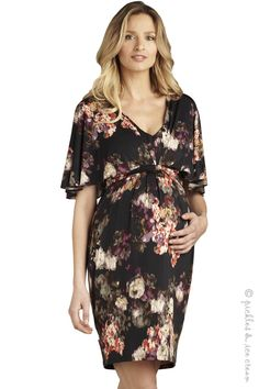Maternal America Braided Garden Print Dress -Final Sale