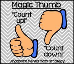 Bright Ideas - Singapore Math - Teaching With Style! Math Classroom, Kindergarten Math, Teaching Math, Classroom Ideas, Fun Math, Math Activities, Maths, Math Fact Fluency, Fluency Practice