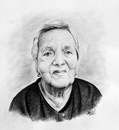 Portrét babičky