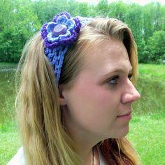 flower Headband via Etsy
