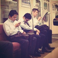 typical train ride home for Yasuo. Yasuo's world is much stricter. Shinjuku Japan, Tokyo Tower, Working People, Train Rides, Japanese Culture, Short Stories, Suit, Country, Couple Photos