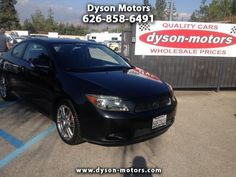 2006 Scion tC, 168,521 miles, $7,496.