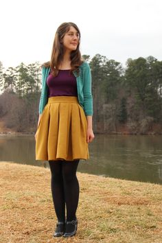 Burda mon amour – Attack of the seam ripper Skater Skirt, Tights, Skirts, Blog, Diy, Fashion, Sewing, Fashion Ideas, Paper Pieced Patterns