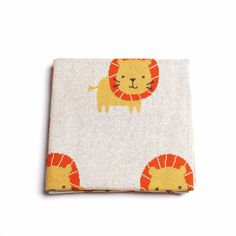 Lion Baby Blanket - Harrison & Co - Lifestyle & Design