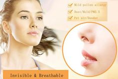 New Invisible Nose Filters for Pollen Allergy   Cool and Crazy Trends Pollen Allergies, Runny Nose, Shape Of You, Natural Shapes, Inevitable, Climate Change, Filters, Trends, Beauty Trends