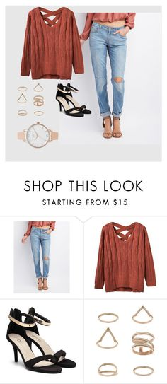 """""""Untitled #249"""" by flo-wer on Polyvore featuring Refuge, Miss Selfridge and Olivia Burton"""