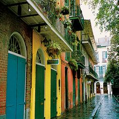 New Orleans, but not during Mardi Gras.  I prefer my cities with fewer 20 year old lushes.