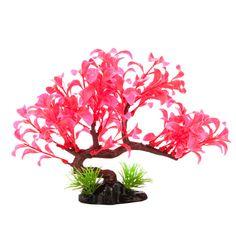 Top Fin® Cherry Blossom Tree Aquarium Plant | Artificial Plants | PetSmart $6.99