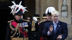 BBC News - Olympic torch: Flame makes dramatic arrival in London. Mayor of London Boris Johnson speech