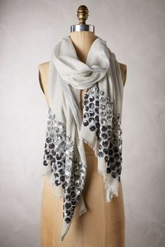 beautiful sequined wool-silk scarf http://rstyle.me/n/w5d8rr9te