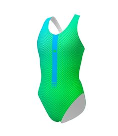 WOMEN SWIMSUIT FLAKT Swimsuit made with PBT fabric that offers an excellent glide in the water and stands out for being 100% resistant to chlorine and saltpeter, and for its quick drying. It is a soft and elastic fabric that adapts perfectly to the body. The straps provide total comfort in the swim, holding the chest well and leaving the back exposed. Inside it has a very thin lining that prevents chafing and possible transparencies. It is a perfect swimsuit for training and competition in…