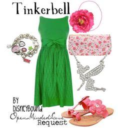Tinkerbell. Peter Pan.