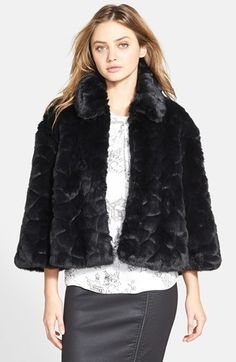 $328, Polar Teddy Faux Fur Jacket by French Connection. Sold by Nordstrom. Click for more info: http://lookastic.com/women/shop_items/171163/redirect