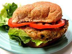 Make it: the famous Farmhouse veggie burger, Veganized