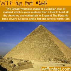 The Great Pyramid - WTF fun facts