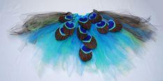 DIY peacock tutu