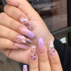 popular nails that will blow your mind in 2019 46 2019 Flashy Acrylic Nail Designs in Coffin Shape Of Summer Season Nuances de denim Simple Acrylic Nails, Summer Acrylic Nails, Best Acrylic Nails, Acrylic Nail Designs, Summer Nails, Acrylic Nail Art, Spring Nails, Perfect Nails, Gorgeous Nails