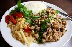 Thai Larb | via The Hungry Girlfriend