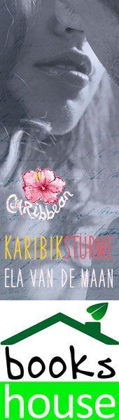 """Karibikstürme"" von Ela van de Maan ab Oktober 2014 im bookshouse Verlag. www.bookshouse.de/banner/?07195940145D1F57111B0805575C4F163BC6"