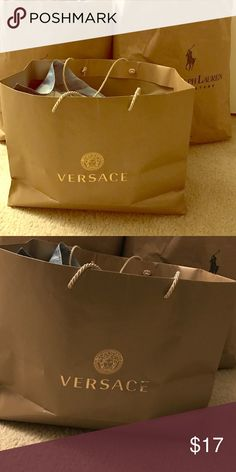 Versace shopping bag Nice color Versace Accessories