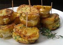 Rychlé hermelínové jednohubky Modern Food, Finger Foods, Baked Potato, Ham, Food Porn, Food And Drink, Vegetarian, Meals, Breakfast