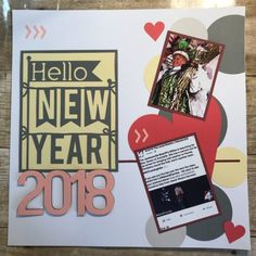 New Year Layout
