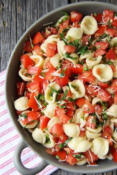 Bruschetta Pasta Salad | Community Post: 15 Amazing Pasta Salads You Won't Find In The Deli Counter