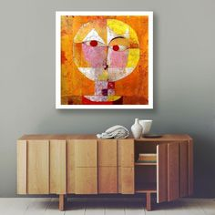 Your place to buy and sell all things handmade Paul Klee Art, Bauhaus Art, Orange Art, Unique Wall Art, Poster On, African Art, Craft Stores, Art Print, Etsy Shop
