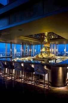 aqua shard london pubs and bars review diffordsguide aqua shard subdued lighting