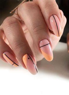 Almond Nails French, Almond Nail Art, Almond Acrylic Nails, Short Almond Nails, Best Acrylic Nails, French Nails, Fall Almond Nails, Chic Nails, Classy Nails