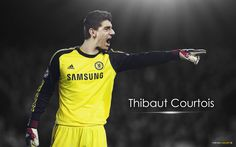 Thibaut Courtois Chelsea - http://www.wallpapersoccer.com/thibaut-courtois-chelsea-2.html
