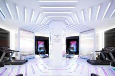 Nike+ Run Club lets you run in a Tron-like space - News - Frameweb
