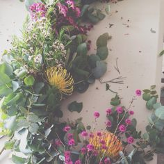 Beautiful floral mess. Photo by amelia_may