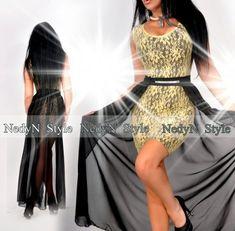 aa917fb72e NedyN csipkés női ruha levehető muszlin szoknyával - AdryFashion női ruha  webáruház, Ruha webshop, Amnesia, NedyN, Rensix , Egyedi ruha