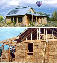 hay bale house construction