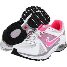 Cute running shoes that seem popular. My old ones were completely destroyed by tennis.