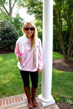 I Believe in Pink: Campus Casual with Jadelynn Brooke