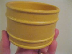 Vintage Portmeirion pottery sugar bowl - RARE yellow Meridian pattern Susan Williams Ellis by 20thCenturyStuff on Etsy https://www.etsy.com/listing/186960333/vintage-portmeirion-pottery-sugar-bowl