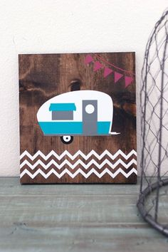 vintage+camper+signs | Vintage Camper Wooden Sign | wood crafts | Pinterest