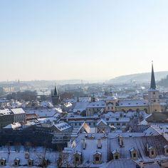 #prague #prag #praha #winter #snow #cold #hradschin
