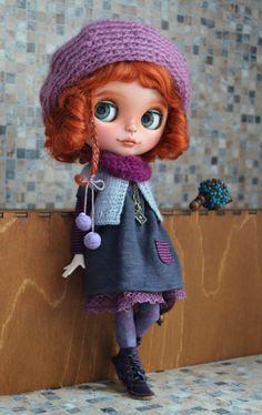 ElleOOAK Custom Blythe doll by MyLittleMuses on Etsy