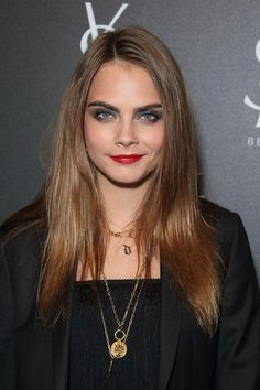 Cara Delevingne's Evolution & Best Red Carpet Beauty Moments | January 2015