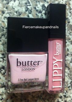 butter LONDON Teddy Girl and LIPPY