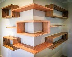 wood corner shelf ideas 6