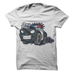 Cool Cartoon police transport 2 T-Shirts