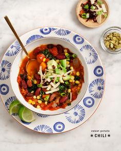 sweet potato vegetarian chili